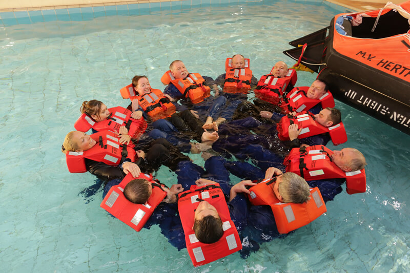 Basic Safety Training voor scheepsbemanning